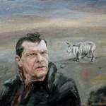 Konstnär Anderssons tavla med get